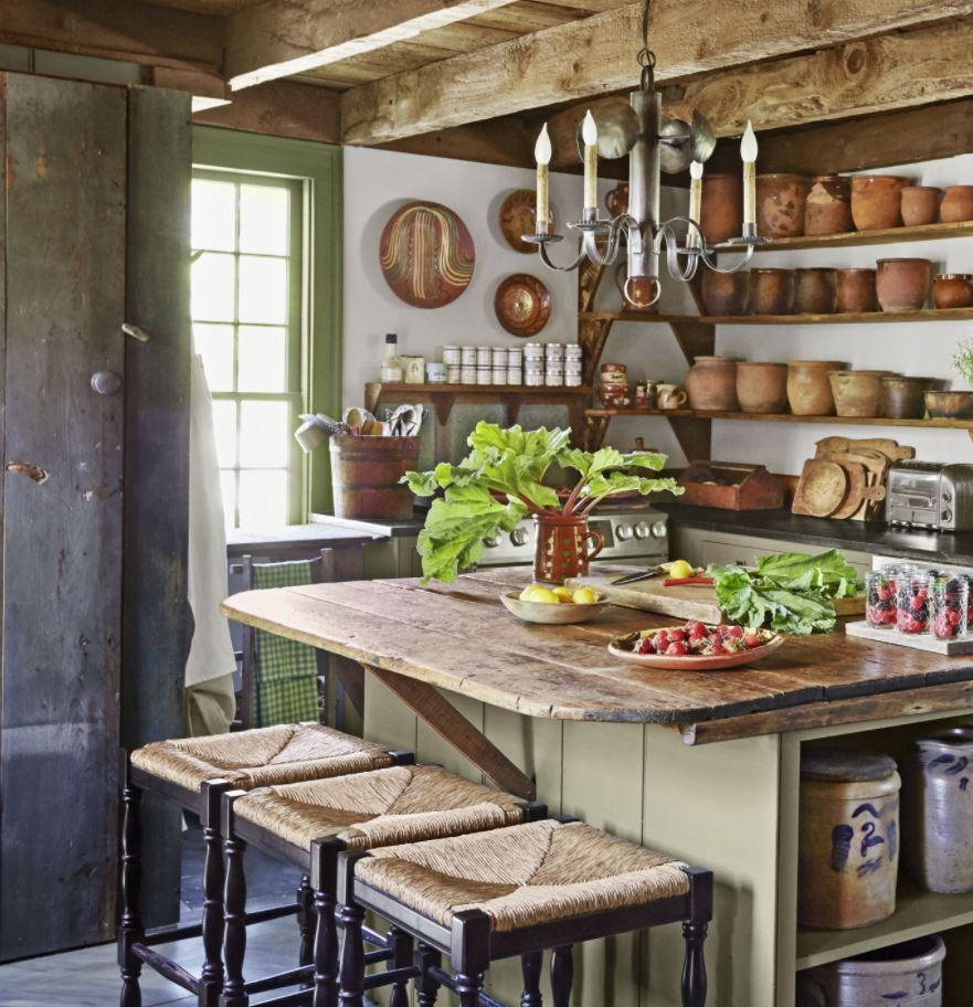 cocinas pequeñas estilo vintage
