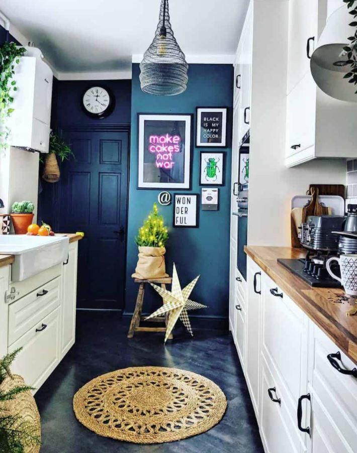 colores para pintar una cocina pequeña