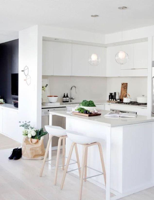 como decorar una cocina pequeña