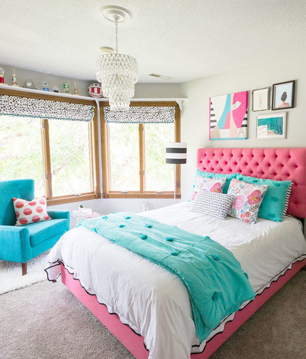 cortinas habitacion juvenil niña