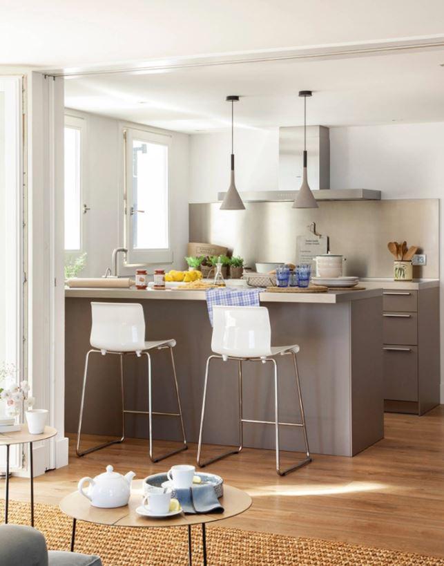 decoración de cocinas pequeñas y sencillas