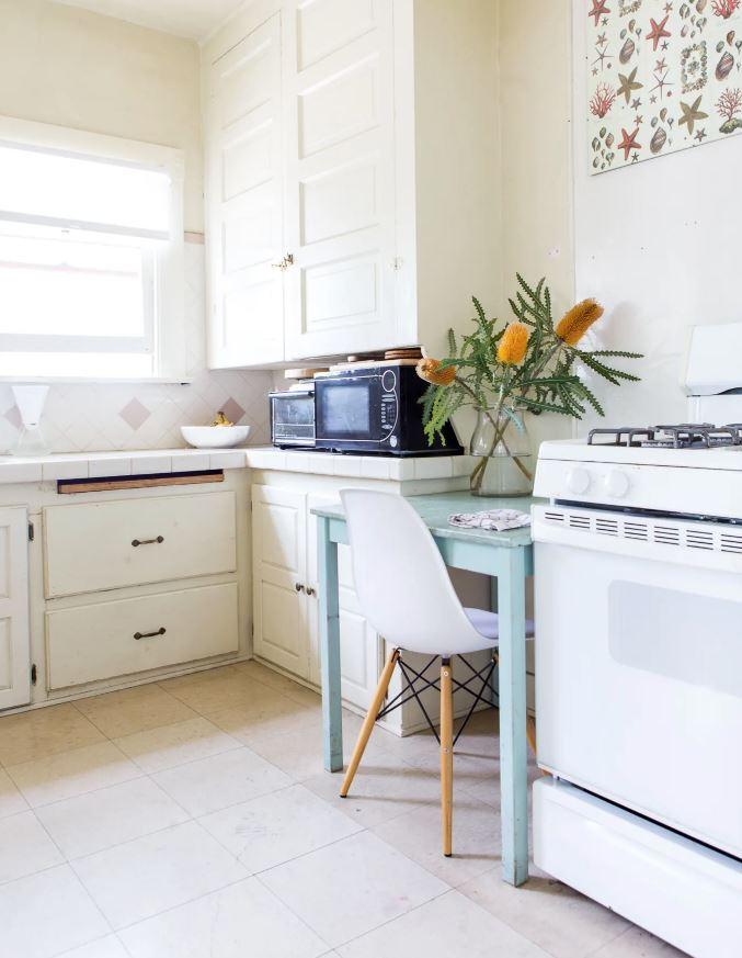decoracion cocina pequeña piso