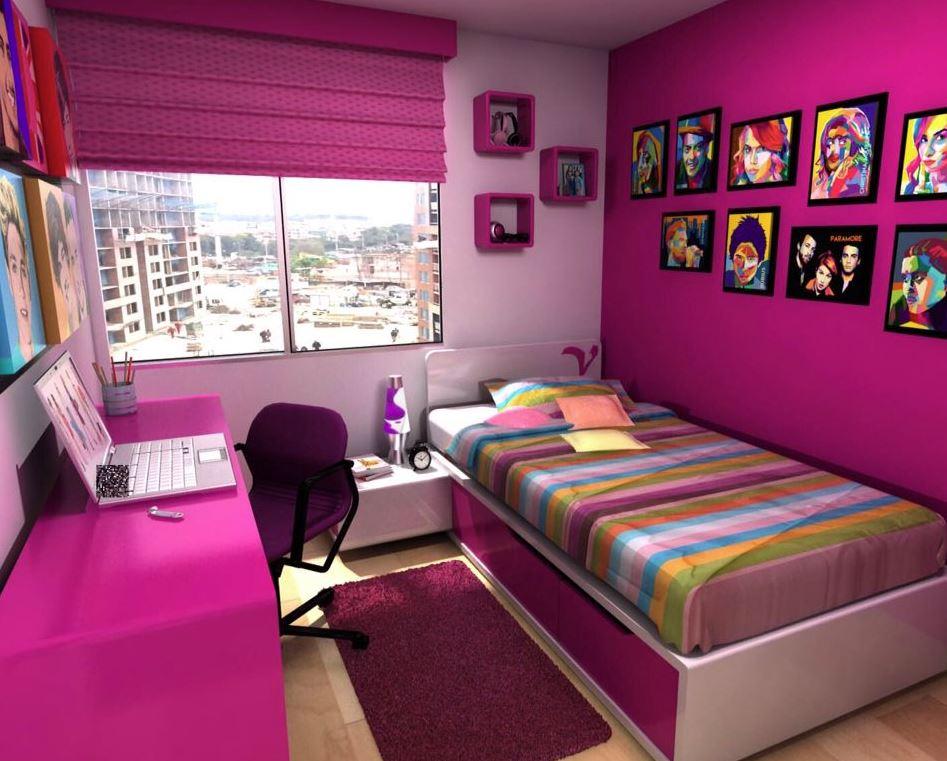 decoracion con cuadros para dormitorios