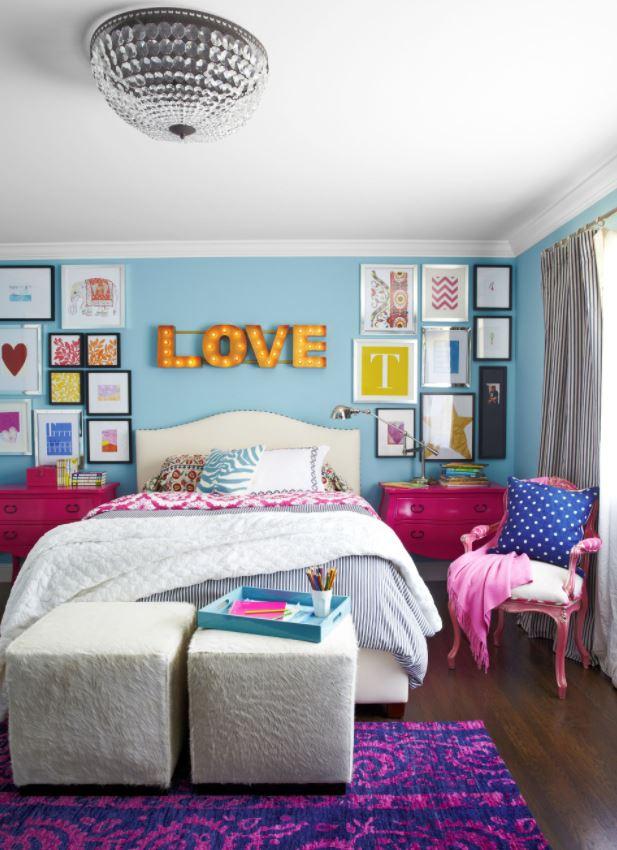 decoracion para niñas cuartos