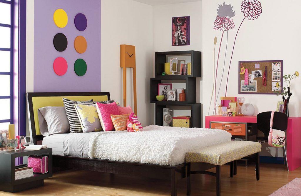 diseños de habitaciones pequeñas juveniles