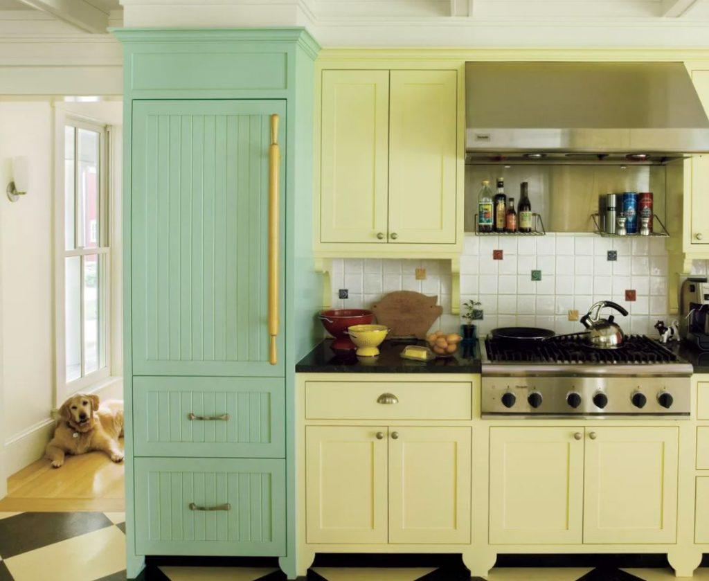 frigorificos de color verde