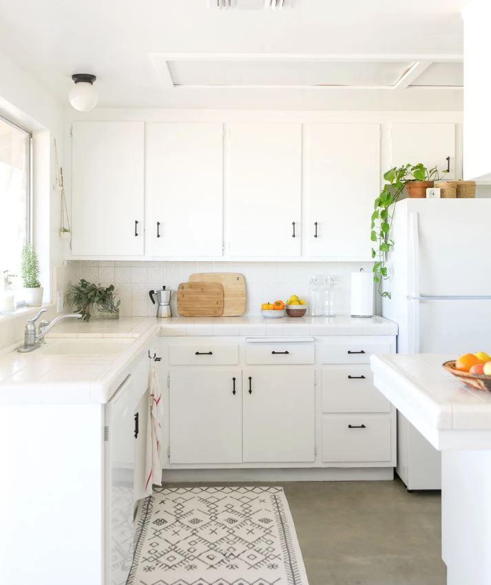 ideas para decorar cocina blanca