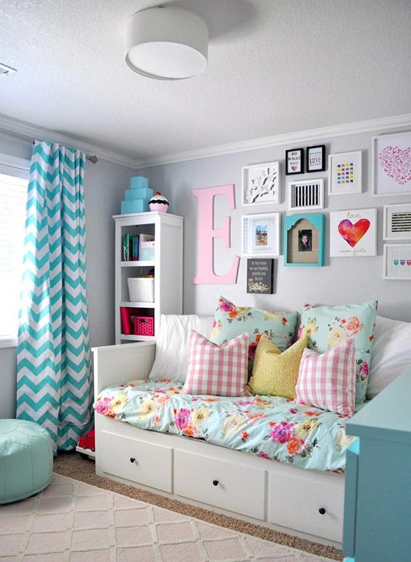 ideas para decorar cuartos para niñas