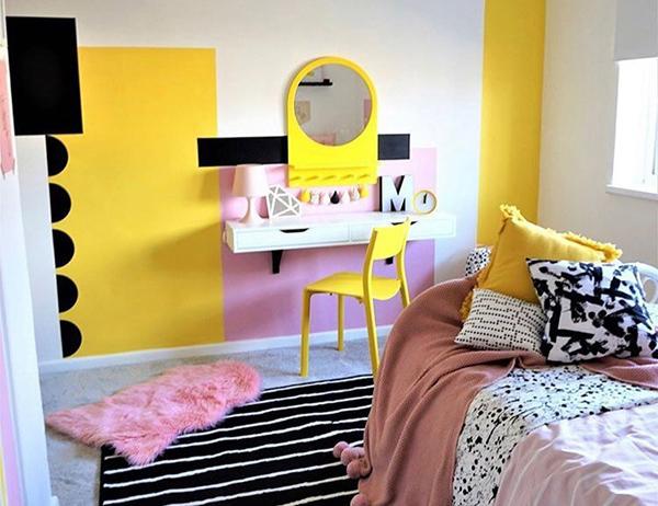 pintar habitacion juvenil chica