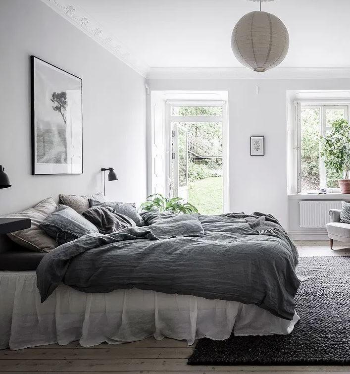 alfombras para dormitorios nordico
