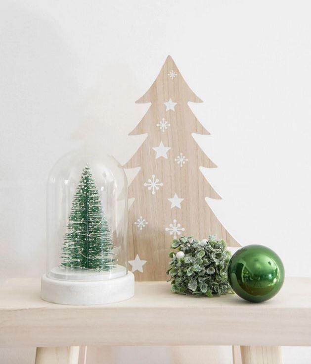 arboles de navidad pequeños para ventanas