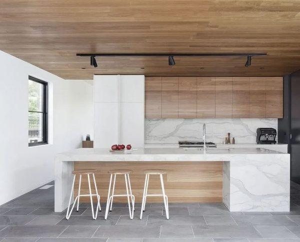 cómo decorar una cocina de madera