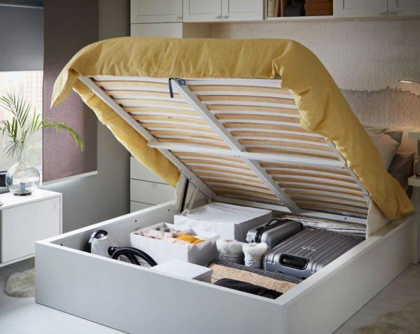 cama con almacenaje ikea