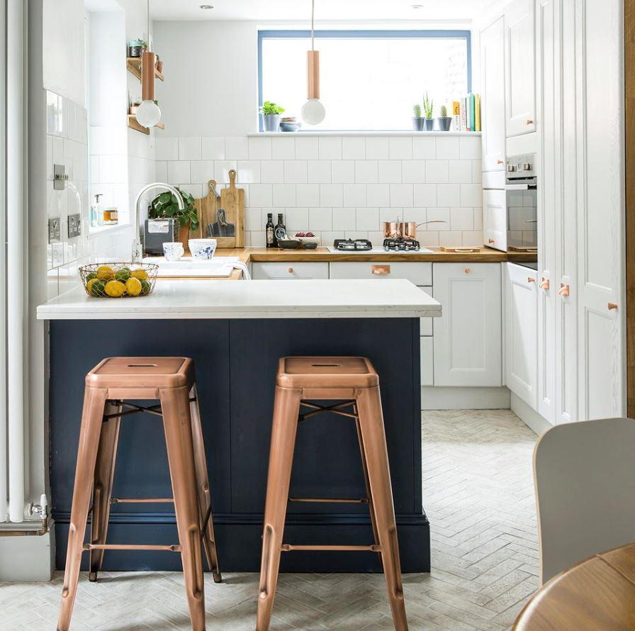 cocina comedor y salon integrados