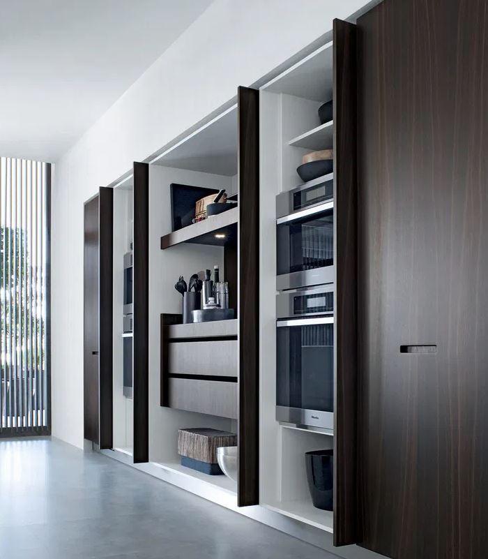 cocina escondida mueble
