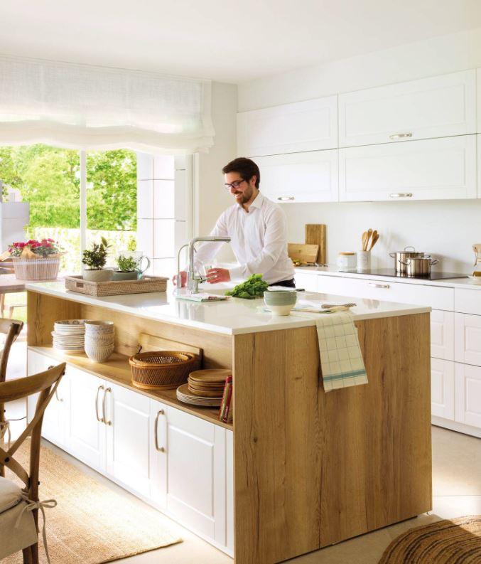 cocina y salon juntos pequeños