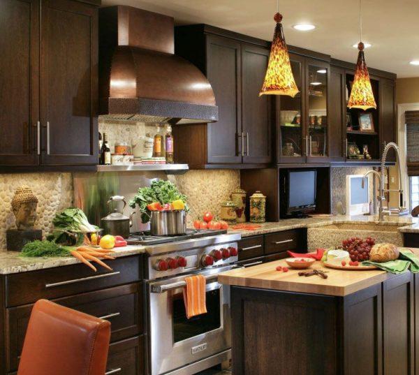 cocinas de madera rusticas fotos