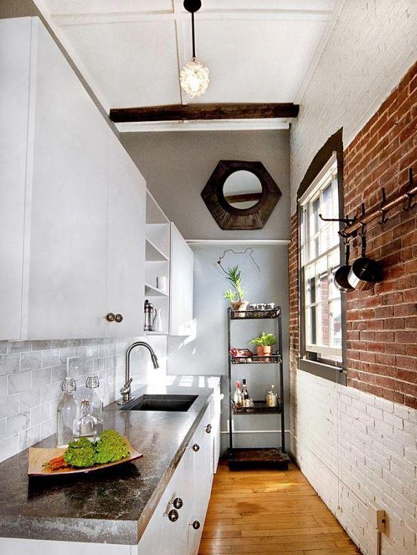 cocinas modernas pequeñas rusticas
