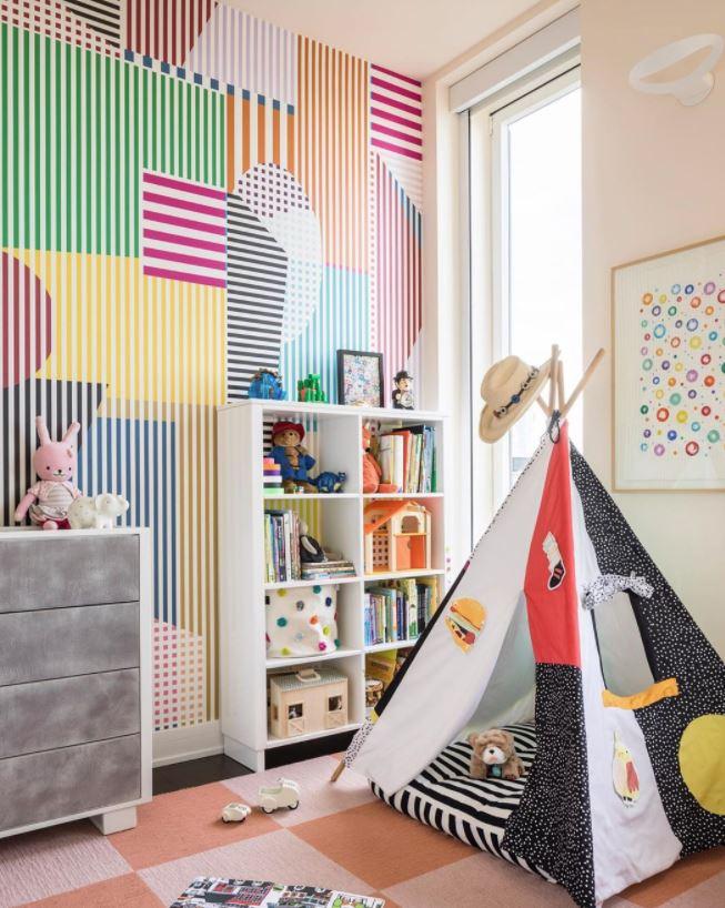colores para pintar un cuarto de juegos