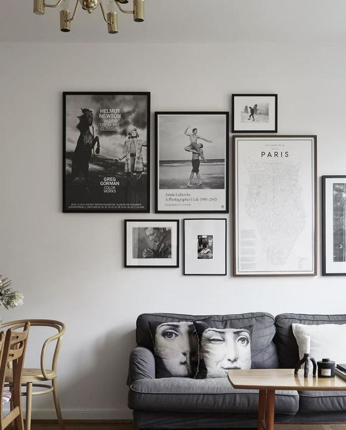 como decorar paredes de salas pequeñas