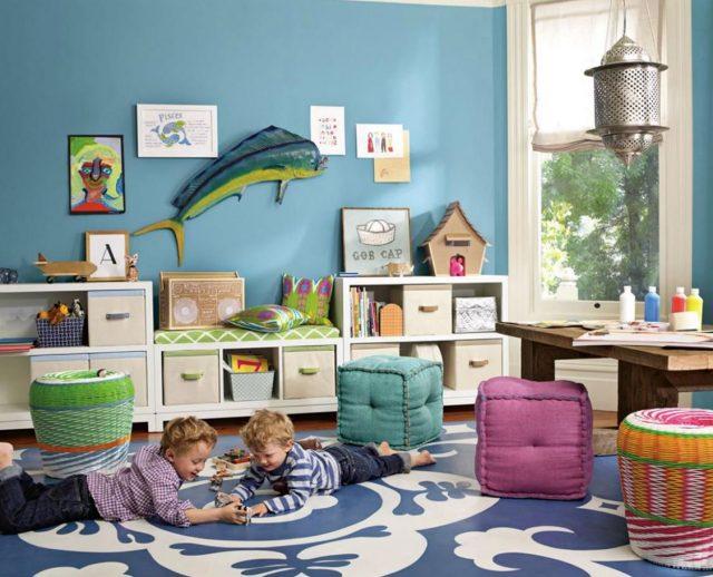 como decorar un cuarto de juegos para niños