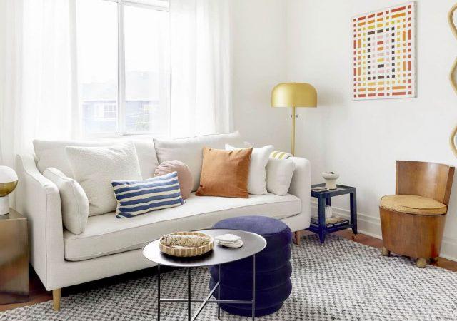 como decorar una sala de estar pequeña