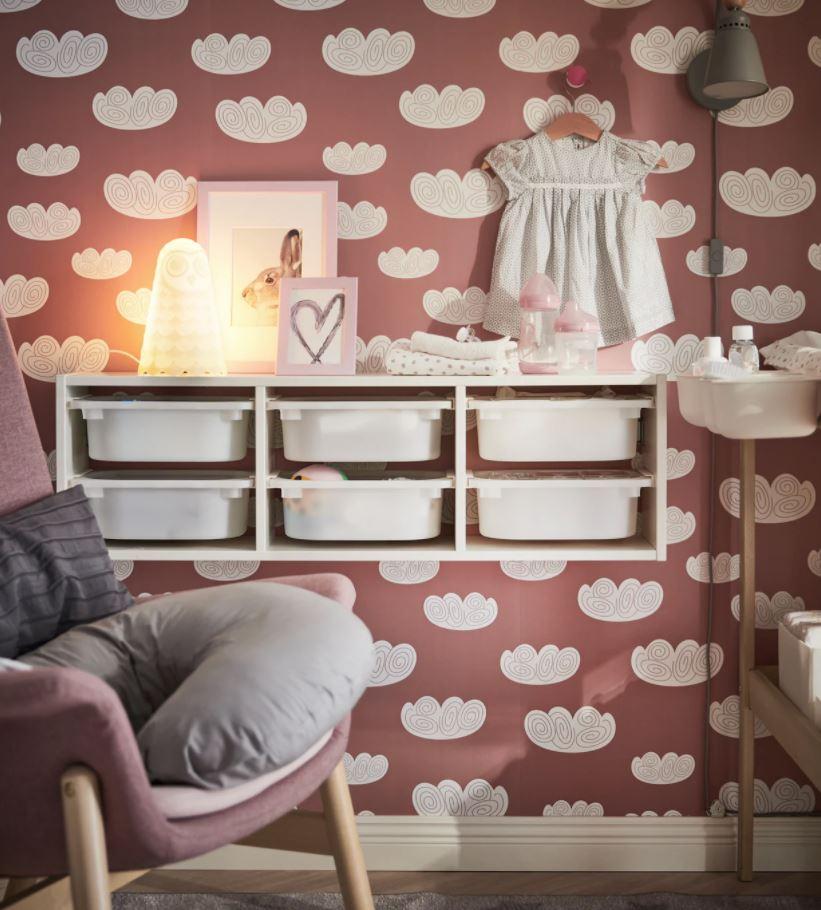 como organizar la habitacion del bebe
