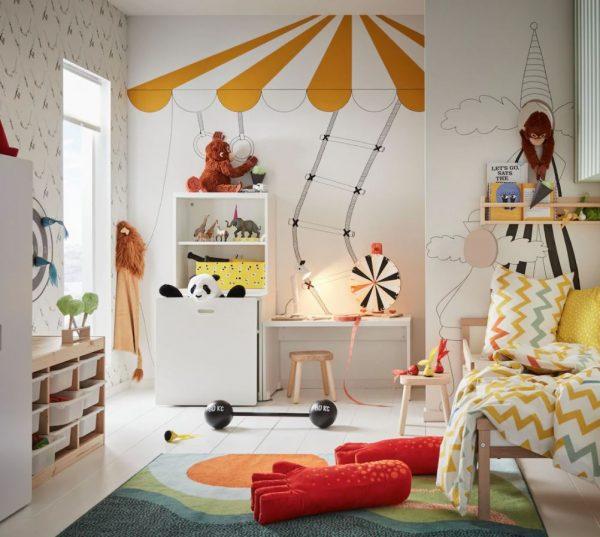 como pintar una habitacion de juegos para niños