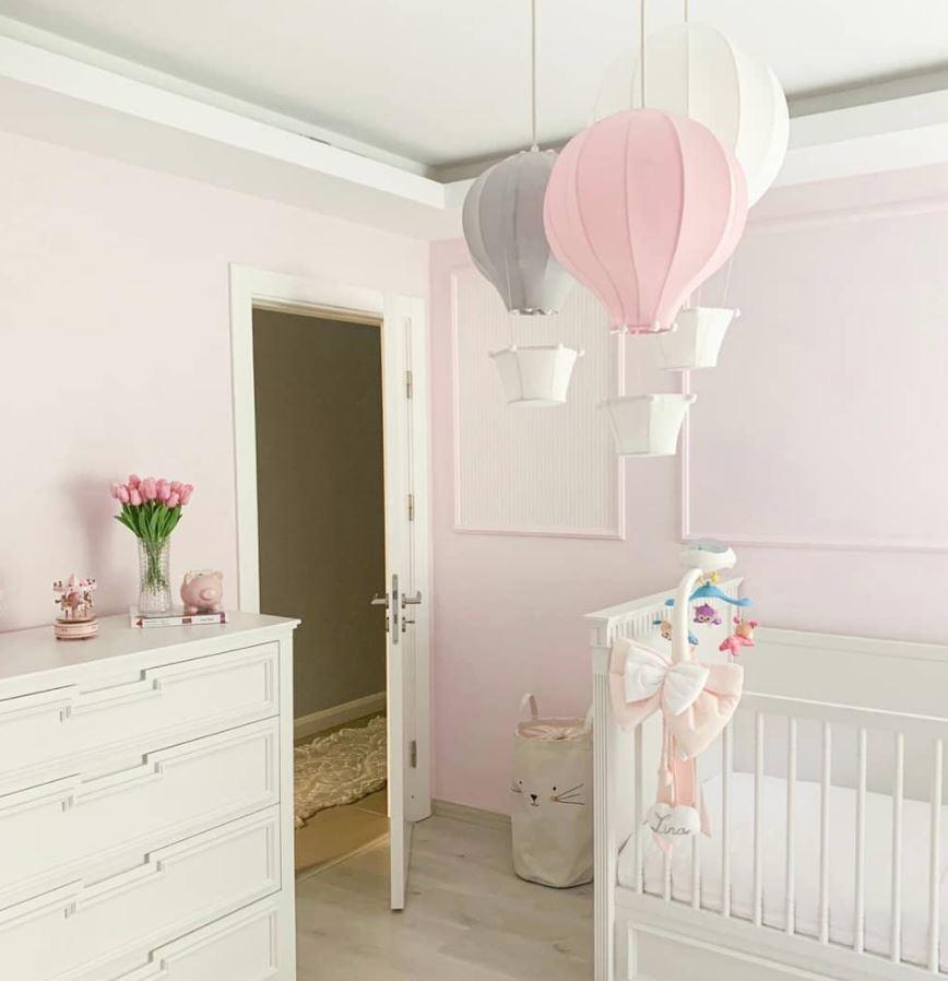 como pintar una habitacion de niña