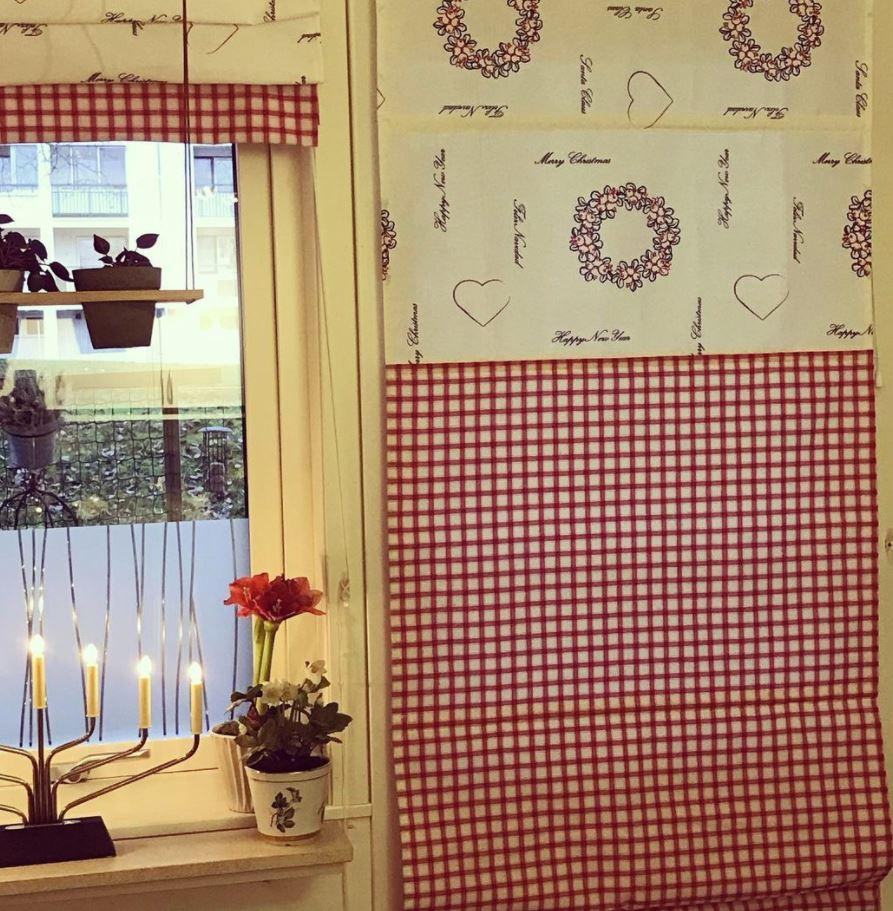cortinas de navidad bonitas