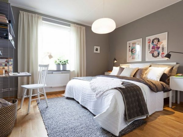 cortinas dormitorio matrimonio modernas