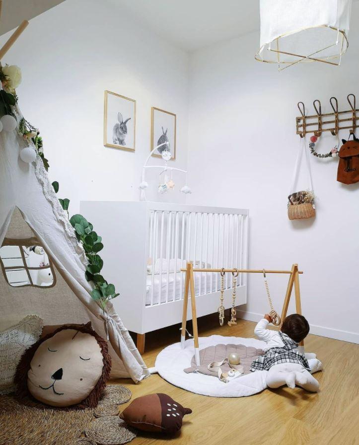 cosas para decorar la habitacion de un bebe