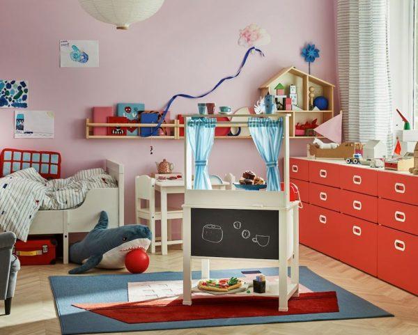 cuartos de juegos infantiles ikea