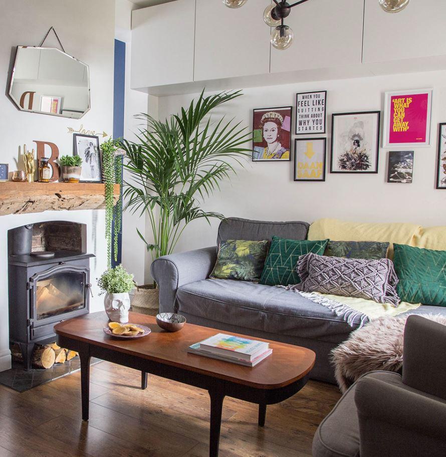 decoración de salas pequeñas y sencillas