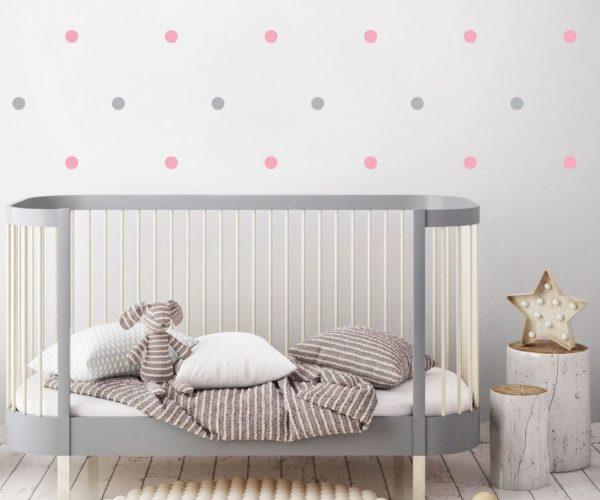 decoración habitación bebé pequeña