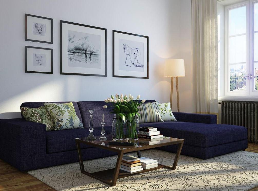 decoración muebles oscuros