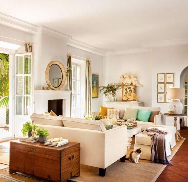 decoracion cuarto de estar moderno