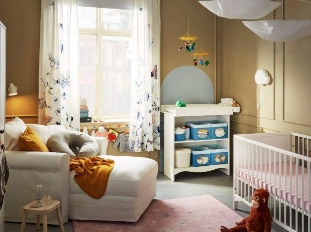 decoracion de la habitacion del bebe ikea