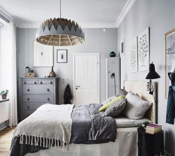 decoracion dormitorios nordicos
