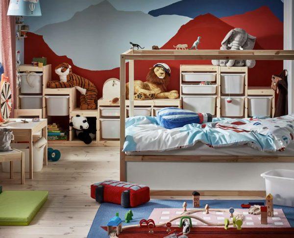 decoracion habitacion infantil juegos