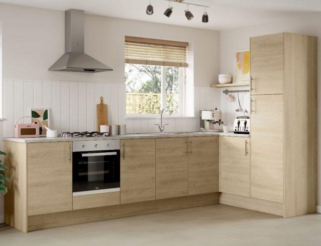 decorar con gusto una cocina de madera