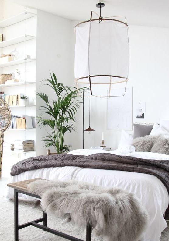 decorar con plantas dormitorio