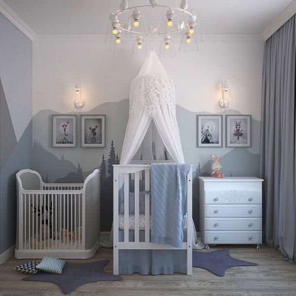 decorar habitacion de bebe con poco dinero