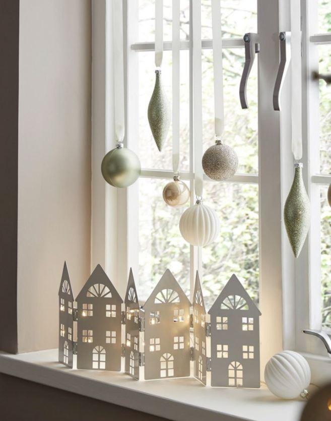 decorar ventanas en navidad ideas