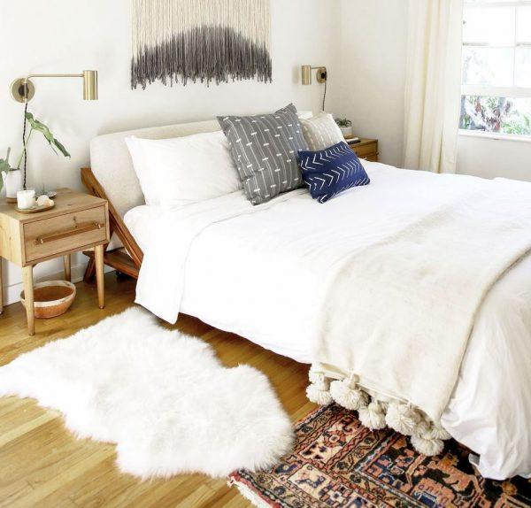 dormitorio matrimonio boho