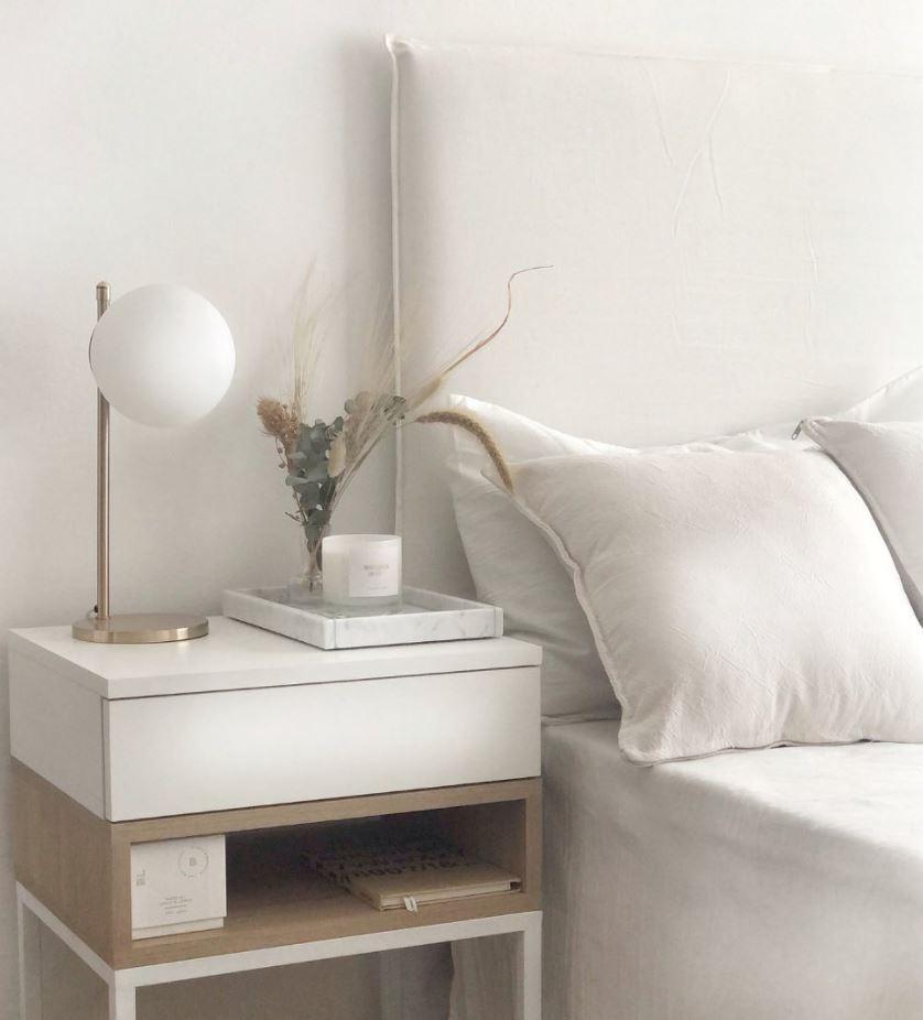 dormitorio matrimonio estilo nordico