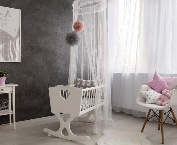 dosel habitacion bebe