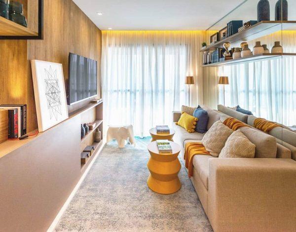 estantes para cuarto de estar modernas
