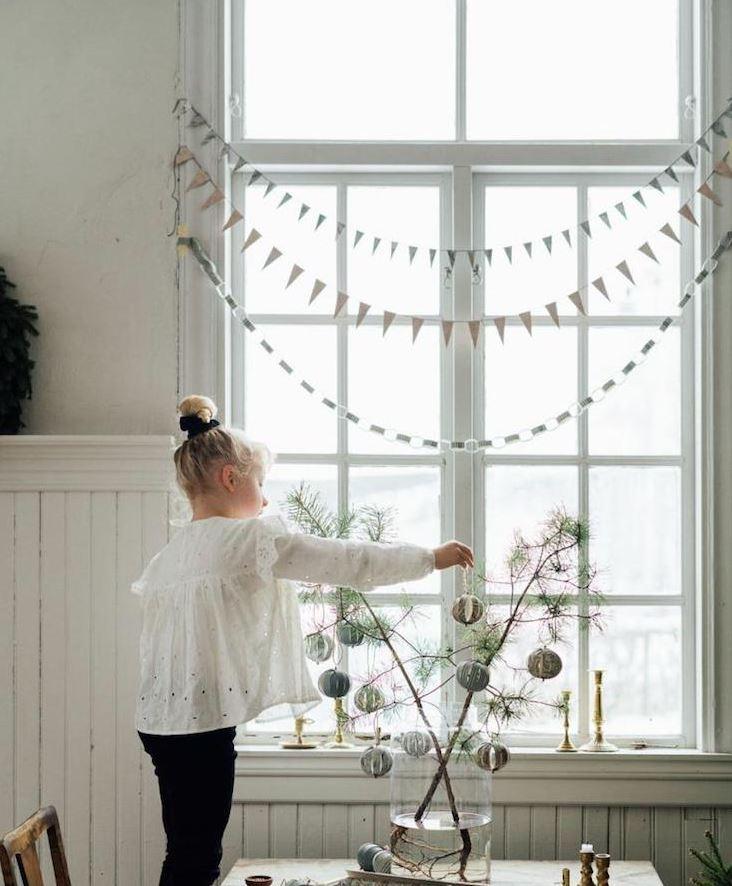 guirnaldas de navidad para ventanas