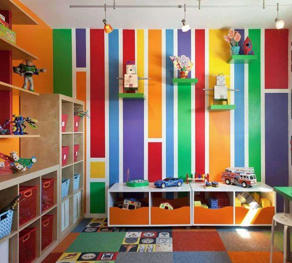 habitaciones de juegos para niños
